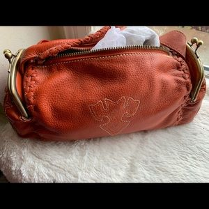III Parcel Rust Purse 12 by 7 NWOT